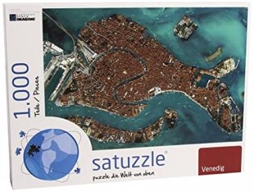 Satellitenbild Puzzle Venedig - 1000 Teile